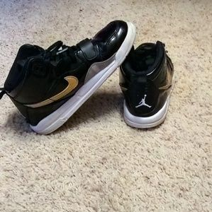 Kids high top Nike Air Jordans